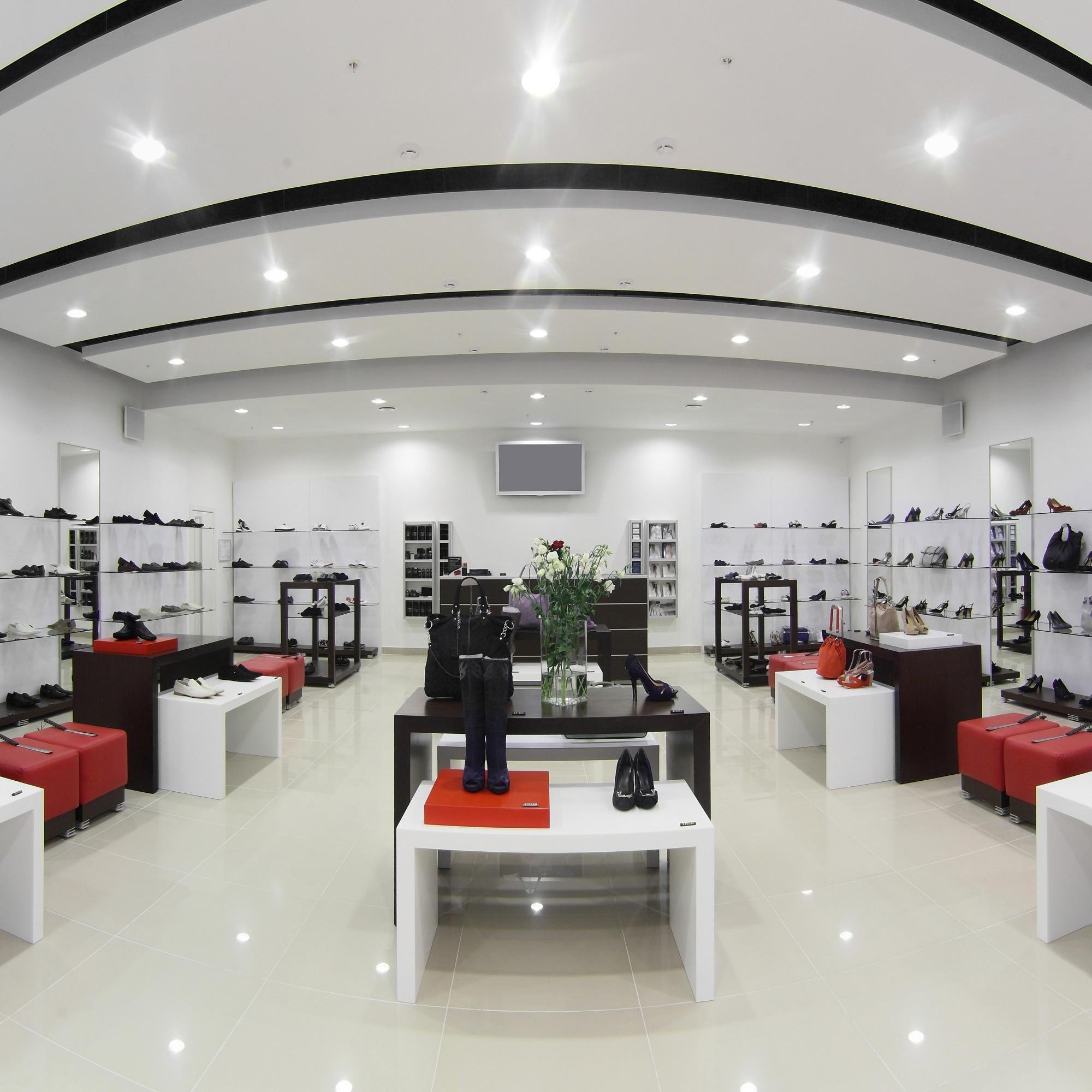 Verkaufsräume, Shops & HoReCa